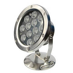 Світильник для ставка в металевому корпусі AquaFall QL-26-1W12W LED білий
