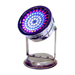 Світильник для ставка в металевому корпусі AquaFall QL-72 C RGB LED