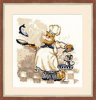 """Набор для вышивания крестом ТМ Золотое Руно """"Шеф-повар. Веселая компания"""" ВК-017"""