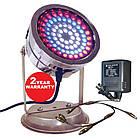 Світильник для ставка в металевому корпусі AquaFall QL-72 C RGB LED, фото 3