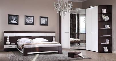 Шкаф двухдверный (18 SM-06 A) и (18 SM-06 В) для спальни Модерн, фото 2