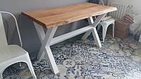 Стол в Live Edge стиле из массива дерева натуральное дерево стол обеденный