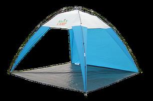 Тент пляжный GreenCamp  арт. 1045 GreenCamp, 2,2х2,2х1,6 м, фото 2