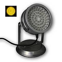 Светильник для пруда в металлическом корпусе AquaFall QL-72 Y LED желтый