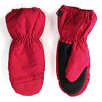 Непромокаемые зимние рукавицы-краги на девочку 3-9 л. (Р. 3/4,5/6,7/8) ТМ Peluche&Tartine Красн. F17 MIT 56 EF