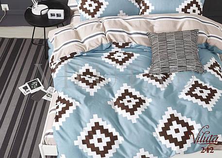 Комплект постельного белья Viluta сатин 242, фото 2
