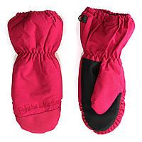 Непромокаемые зимние краги на девочку 3-9 лет (Р. 3/4,5/6,7/8) ТМ Peluche&Tartine F17 MIT 52 EF Framboise Pink