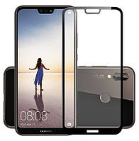 Защитное цветное 3D стекло Mocolo для Huawei P20 Lite