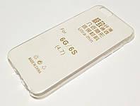 Чехол для iPhone 6 / 6s силиконовый прозрачный ультратонкий, фото 1