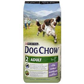 PURINA Dog Chow Adult с ягненком 14 kg