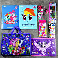 Школьный набор первоклассника для девочки Kite Little Pony