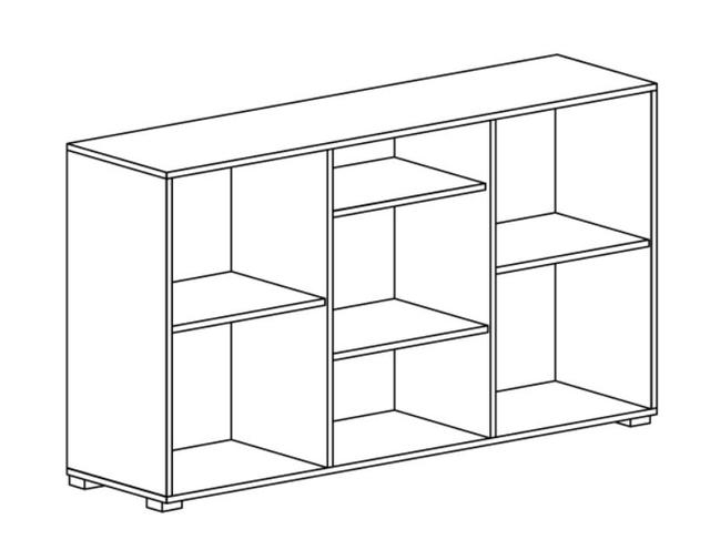 Комод 3Д Paris L (схема)