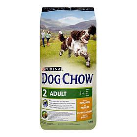 PURINA Purina dog chow adult с курицей 14 kg