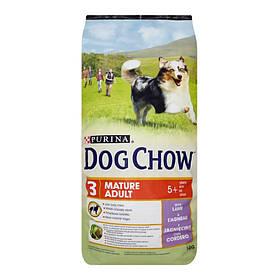 PURINA Dog Chow Mature adult 5+ c ягненком 14 kg