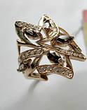 Золотое кольцо с РАУХТОПАЗАМИ 4.21 грамма 18  размер ЗОЛОТО 585 пробы, фото 7