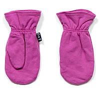 Демисезонные рукавички на девочку 3-9 лет (Размеры: 3/5, 6/8) ТМ Peluche&Tartine Сиреневый S18 MIT 56 EF