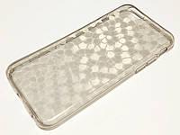 Чохол для iPhone 6 / 6s силіконовий прозорий матовий з візерунком