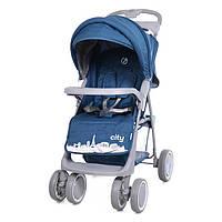 Коляска прогулочная City, «Babycare» (BC-5201), цвет Blue (синий в льне)
