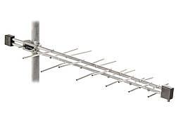 Логопериодическая антенна 20 элементов (алюминий)