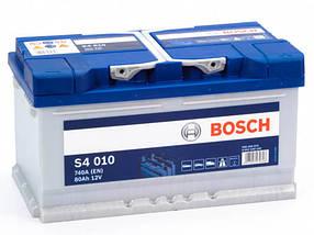 Акумулятор автомобільний BOSCH 6СТ-80 H Євро