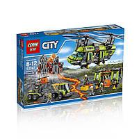 Конструктор LEPIN 02087 CITY -  Тяжёлый транспортный вертолёт Вулкан (1430 дет.)