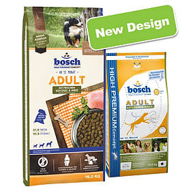 Сухий корм для собак BOSCH Adult  15 кг