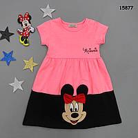 Летнее платье Minnie Mouse для девочки. 3-4 года, фото 1