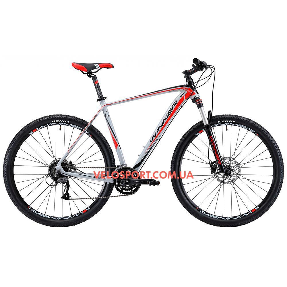 """Горный велосипед Winner Epic 29 дюймов 20"""" серый"""