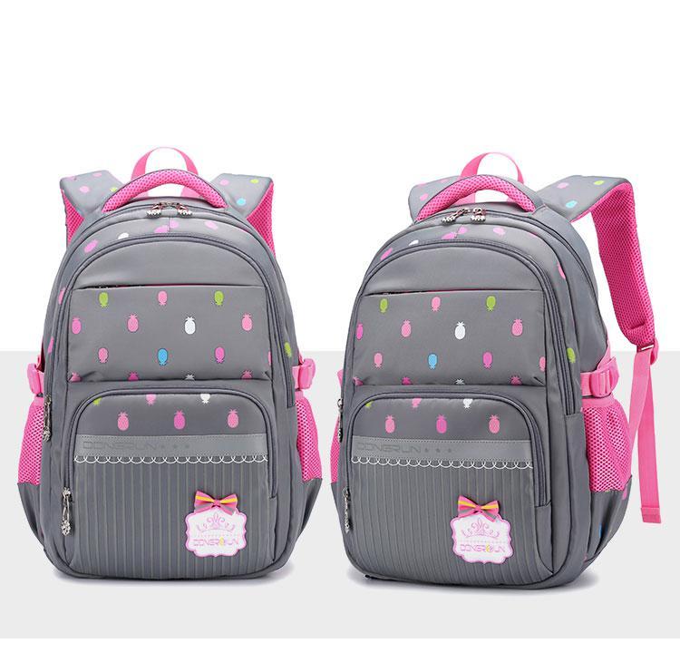 """Шкільний рюкзак для дівчинки """"Funny Pineapples"""" (4-12 клас)"""