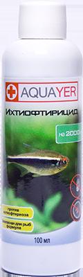 AQUAYER, Іхтіофтіріцид, 100 мл на 2000 литров, фото 2