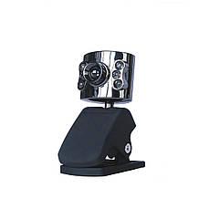 Веб-камера с микрофоном, подсветкой, USB вебкамера