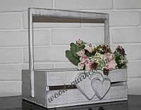 Корзинка для цветов прованс