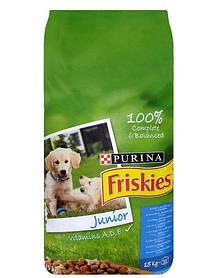 FRISKIES Junior с курицей, молоком и овощами 15 kg