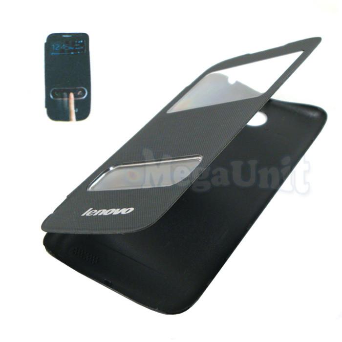 Чехол-книжка Flip Cover для Lenovo A516 Черный