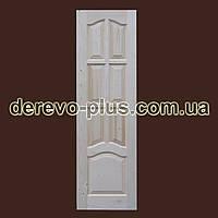 Двері з масиву дерева 60см (глухі) f_1160