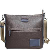 Мужская коричневая кожаная сумка-планшет Issa Hara «ORIGINAL MAN» В10 (12- bbe9de7c976df
