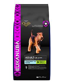 Сухий корм для собак великих порід EUKANUBA Adult large 15 кг