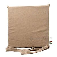 Подушка для стула Emilia Arredamento BiscACCEC-40 бежевая 40х40 см