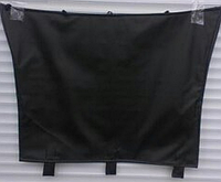 Зимний защитный чехол для капота  VOLKSWAGEN CRAFTER с 2006- / цвет: черный