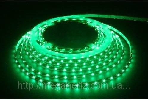 SMD 3528 светодиодная лента 5м Green 300 диодов, фото 2