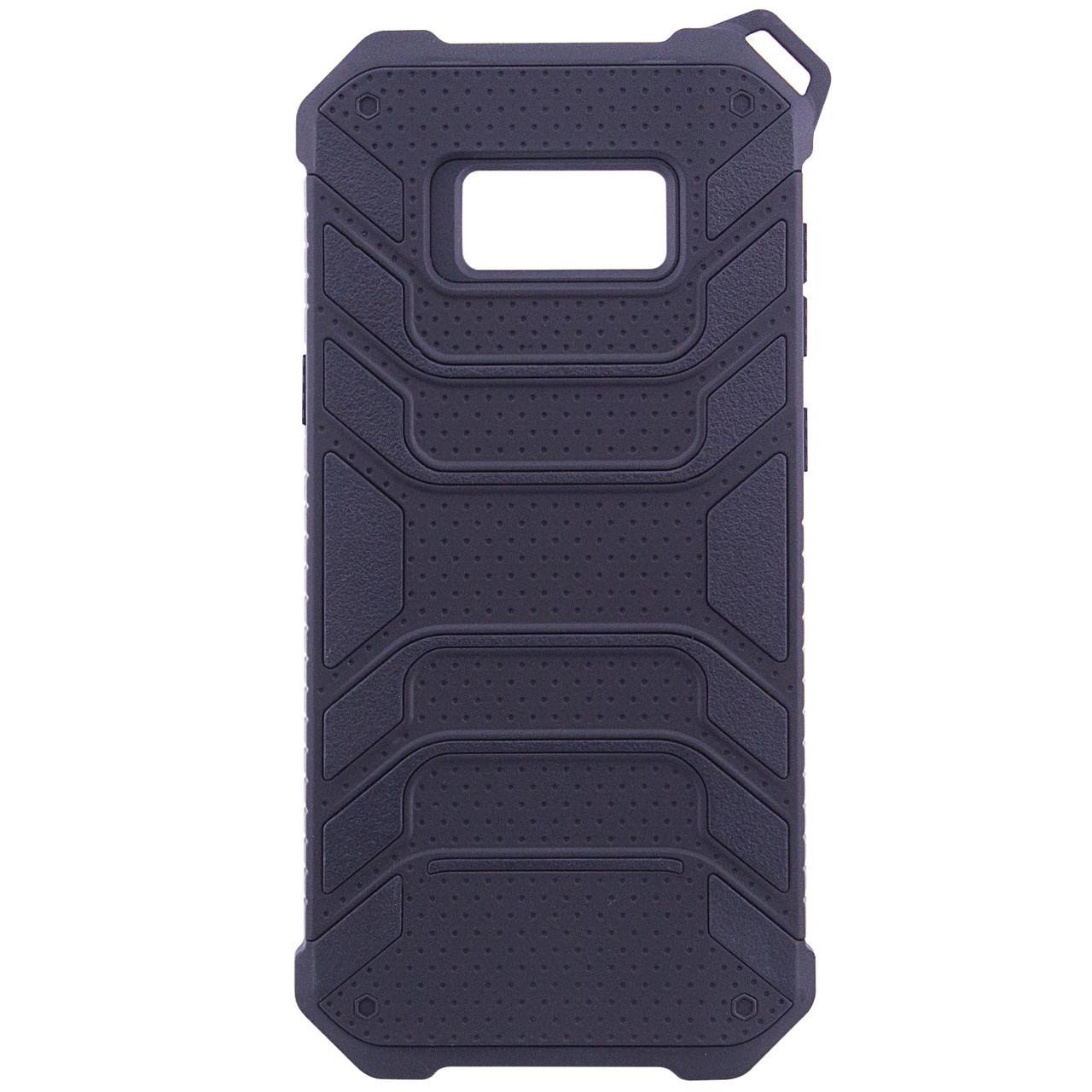 TPU+PC чехол Deen Beetle с ремешком для Samsung G955 Galaxy S8 Plus
