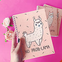 """Блокнот """"No prob-lama"""""""