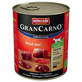 Animonda GranCarno Original Adult 24x800 g Чистая говядина