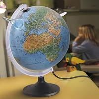 Глобус с подсветкой Люмириссимо, 30 см (Нем. язык, физ/полит), Tecnodidattica 5184