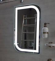 Зеркало 500*800 мм со светодиодной подсветкой, индивидуальный размер