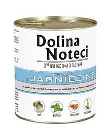 Dolina Noteci PREMIUM Консервы для собак с ягненком, овощами и рисом 0,8 kg