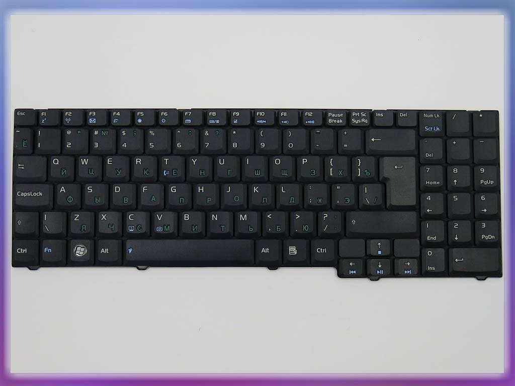 Клавиатура для ноутбука ASUS M51Tr ( RU Black ). Оригинальная клавиату 3