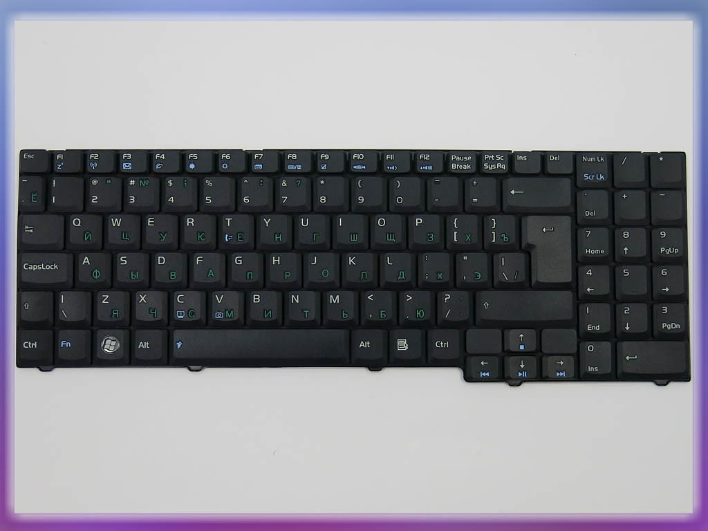 Клавиатура для ноутбука ASUS F7S ( RU Black ). Оригинальная клавиатура 3