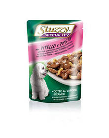 STUZZY Speciality Veal With Pasta - телятина с лапшой 0.1KG