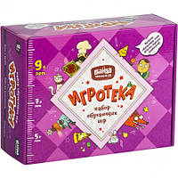Игротека 9+ набор лучших обучающих игр для школьников, Банда Умников (УМ082)